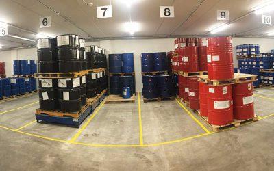asma Vorstellung Gebäudebereich: Rohstofflager