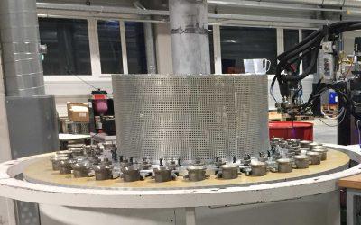 Präzisionsrollen aus automatisierter Fertigung